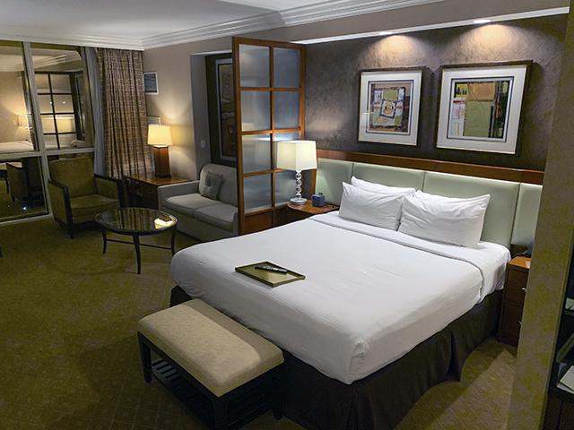 Signature hotel suite