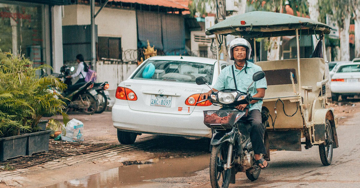 Mandalay Tuk Tuk
