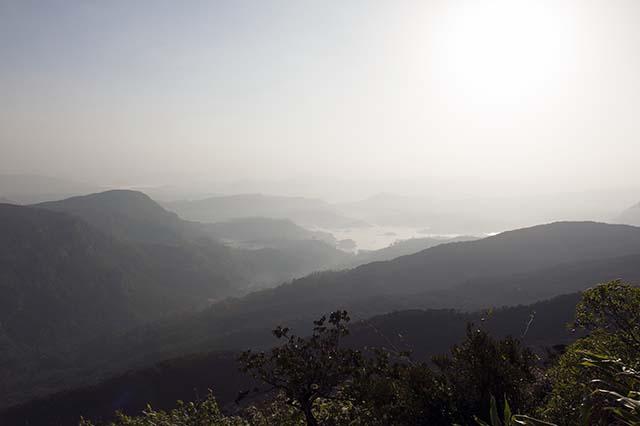 Adams Peak view