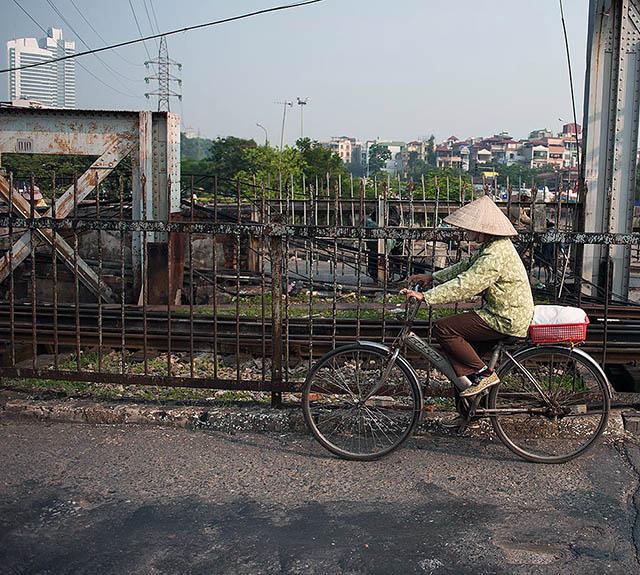 Vietnam cyclist